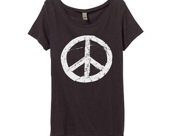 Peace sign tshirt | Etsy