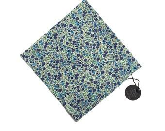 Pomp & Ceremony Pocket Square handkerchief Liberty of London Phoebe D