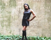 90s DKNY Dress A line Quilted 10