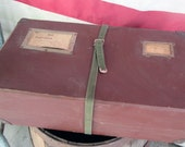 SALE Vintage Postal Mailer Industrial Storage
