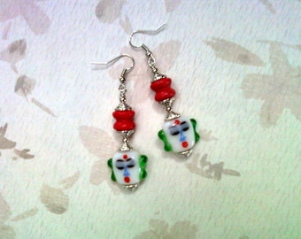 Chinese Face Earrings (1599)