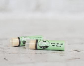 Peppermint Tingle Natural Vegan Lip Balm