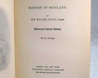 Tales of a Grandfather - by Sir Walter Scott -  Vol II - History of Scotland