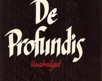 Oscar Wilde De Profundis 1949 HC Philosophical Library