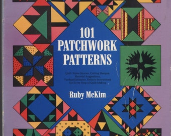 101 Patchwork Patterns by Ruby McKim TIB12247