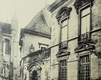French Unused Postcard - Hôtel du Vogüé, Dijon, France
