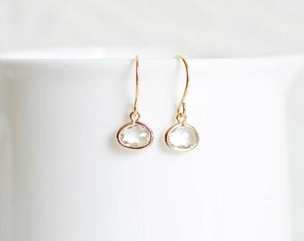 Brynn Earrings - Gold/Crystal