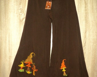 RecYcleD bio cotton mushroom trousers size large