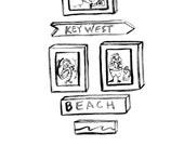 Beach House Design Idea. Key West Chickens Kids Room Decor Beach Baby Nursery Beach Cottage Rooster Hen Chickens Mangoseed by Christina Rowe