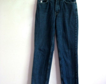 Vintage 1980s Jeans Guess Jeans Cotton Dark Blue Denim Pants 29