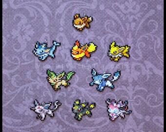 Eevee Evolutions - Pokemon charms