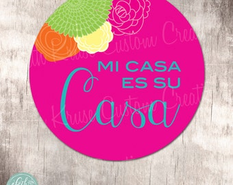 Fiesta Party 14 inch Party Sign Instant Download by Beth Kruse Custom Creations