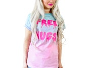 Customizable Free Hugs T-Shirt, Tank or Crop Top