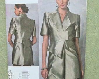 Vogue 1155, Guy Laroche Pattern, Mini Dress Pattern, Vogue Designer, Avant Garde Design, Bust 30.5 to 34, OOP Pattern, Uncut, Sewing Supply