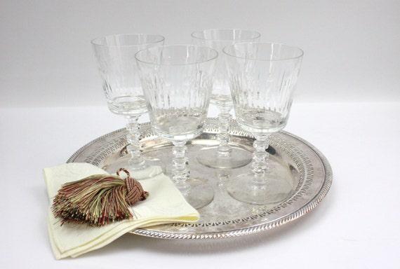 Vintage Water Goblets 76