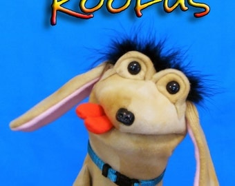 Roofus Dog  Hand Puppet or Ventriloquist Puppet Custom order
