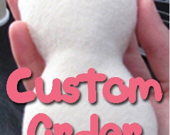 Hand Sewn Custom Order, Fan Art, Personalized, Unique, Anime, Manga, TV, Movie, Video Game Felt Stuffed Plushie Made to Order