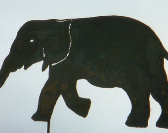 Elephant Yard Art by Rustiques Garden Art