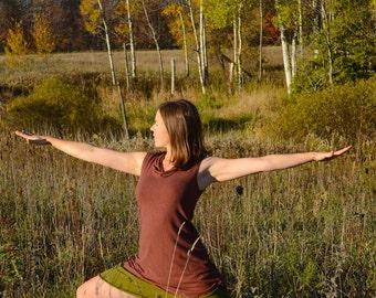 Organic Solstice Tunic Cap Sleeve (Hemp/organic cotton knit)