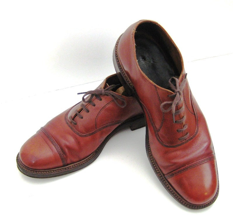 60s dress shoes brown oxfords steel toe dress shoe 1960s toe