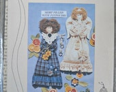 "12"" Potpourri Doll and Angel Pattern , by Down Memory Lane, Vintage 1990's"