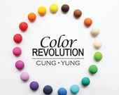 Colourful Ball Stud Earrings, Ball Earrings, Colourful Polymer Clay Earrings, Geometric Earrings,  Colourful Earrings, Stud Earrings