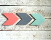 Set of 3 Chevron Arrows