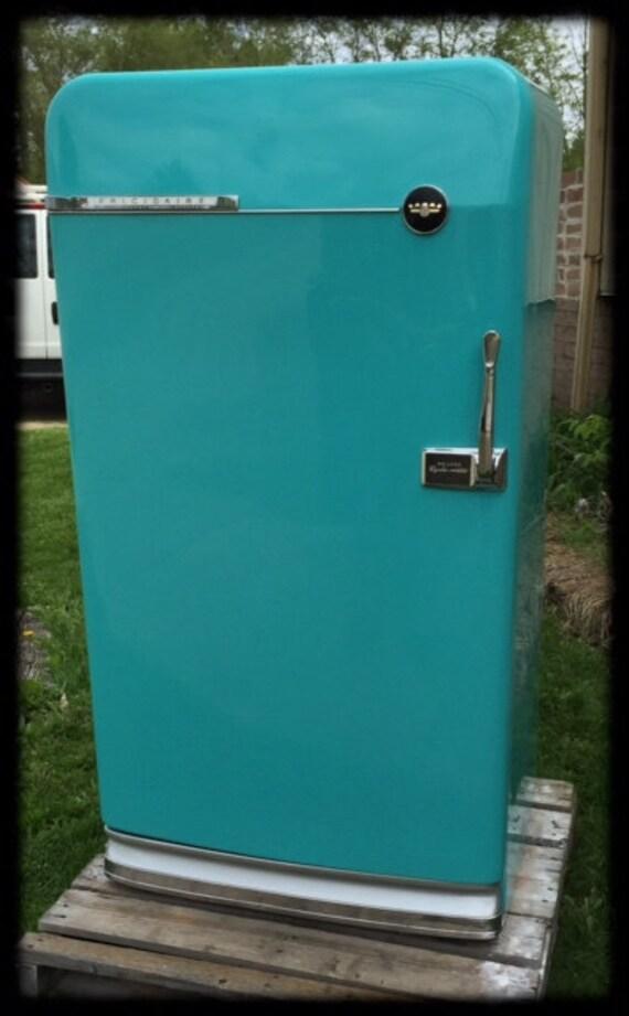 Custom Refurbished Retro Refrigerator Made To Order Man