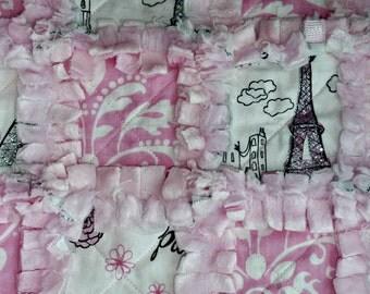 Doll Quilt - Paris