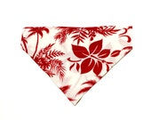Large Red and White Hawai...