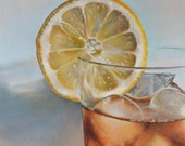 """20 x 16 Double Matted Giclée Reproduction Print of original """"Sweet Tea"""" by Katie Koenig 1/250 Limited Edition"""