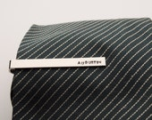 Personalized Tie clip - Hand Stamped gift for Men's Accessaries