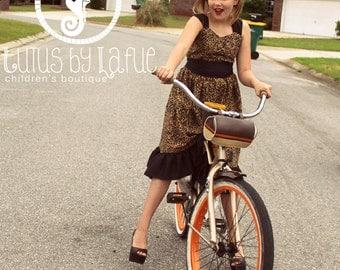 Larkin's Tween Fancy Party Dress PDF Pattern Sizes 7/8 to 15/16 girls