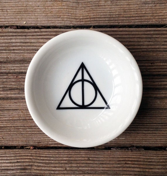 Harry Potter | Deathly Hallows | Ring Dish | Trinket Dish | Engagement Gift