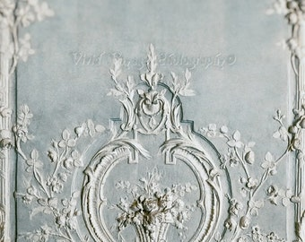 Versailles Photo, Romantic Art, Soft Blue, Rococo, Feminine, Blue And White Decor, Marie Antoinette, Bed Room Art, French Decor, Photograph
