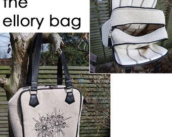 cozy nest design - ellory bag pdf sewing pattern
