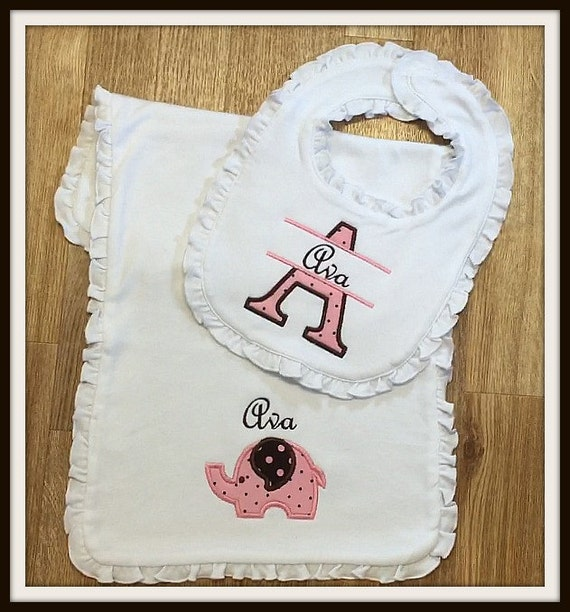 Firstcry Baby Gift Sets : Items similar to baby girl gift set personalized bib and
