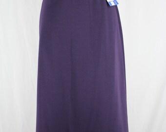 Vintage Skirt Act III Purple Plum Large NOS
