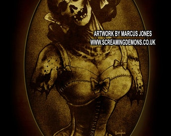 Gothic, Zombie, Victorian dark Art by Marcus Jones