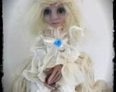 SALE- OOAK Ghost Art Doll - Evalina