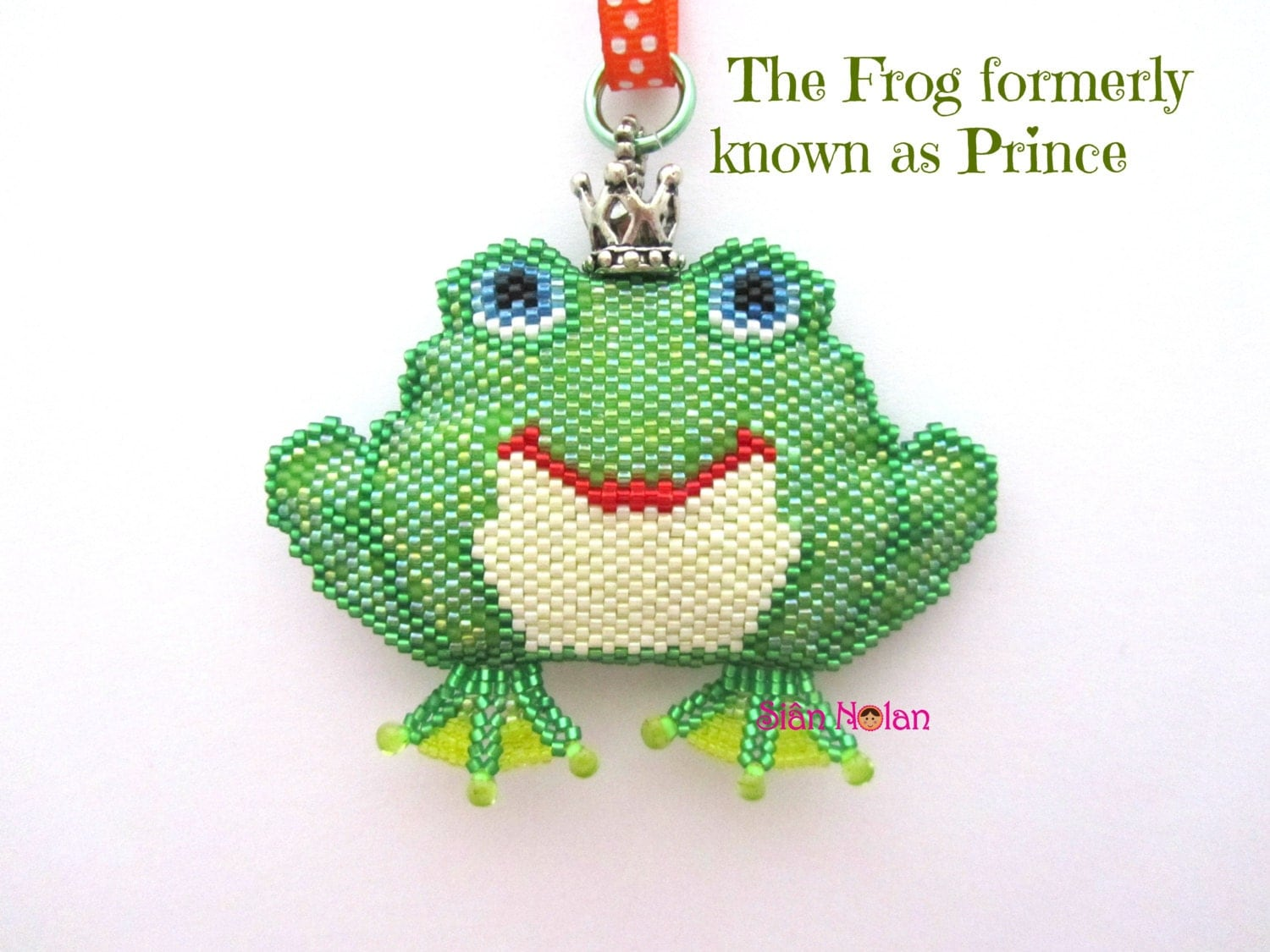the frog formerly known as prince beading pattern pdf