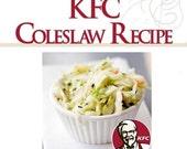 Kentucky Fried Chicken KFC COLESLAW RECIPE Creamy and Tangy Copycat Recipes