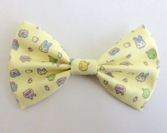 Tamagotchi Inspired Hair Bow Or Bow Tie