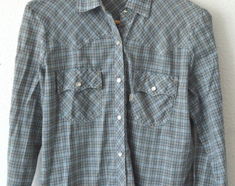 Vintage 70s Levi's Pearl Snap Western Shirt