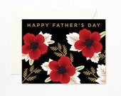 Wildflowers Happy Father's Day Card