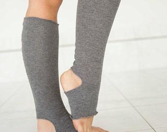 Yoga Socks - Yoga or Dance Leg Warmers - Yoga Spats - Yoga Accessories
