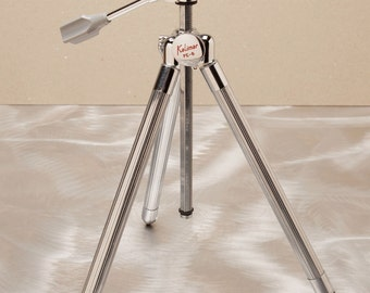 KALIMAR PE-8  - Vintage Travel Tripod - Very Compact with Geared Center Column - Japan 1960's Quality