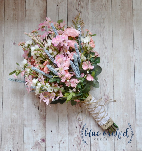 Wild Flower Wedding Bouquet: Items Similar To Wildflower Bridal Bouquet