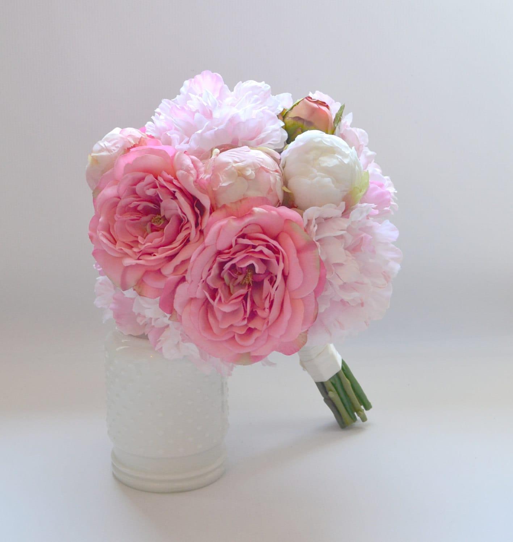 bouquet de pivoine rose roses shabby chic pivoine fleurs. Black Bedroom Furniture Sets. Home Design Ideas