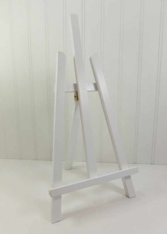 Large White Easel Tabletop White Wood Easel 16 Inch White